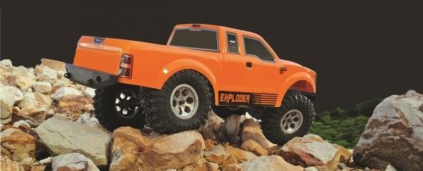 Pickup Crawler 1:10 4WD RTR, Orange