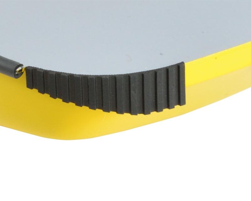 Gummi Bumperplatte 300x75x3x4
