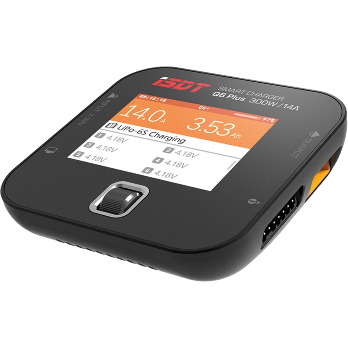 ISDT Q6 PLUS 300W 7-32V / 14A DC SMART CHARGER
