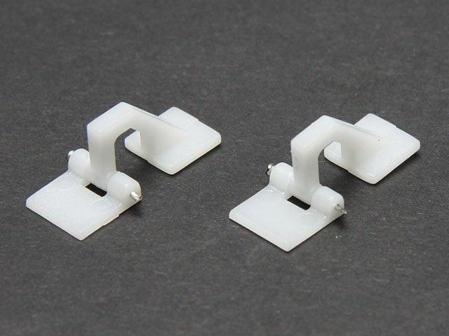 Klappenscharnier 27x10,5 mm (VE 2 Stk)