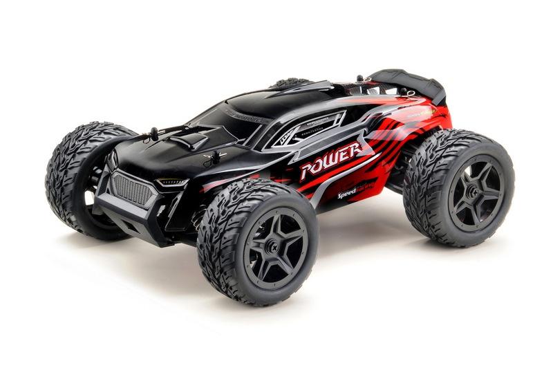 1:14 Truggy 4WD RTR schwarz/rot