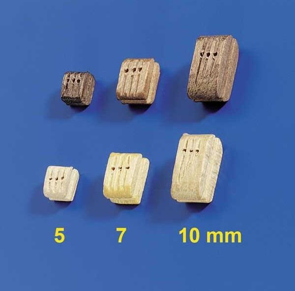 Dreifachblöcke 7mm (10 Stück)