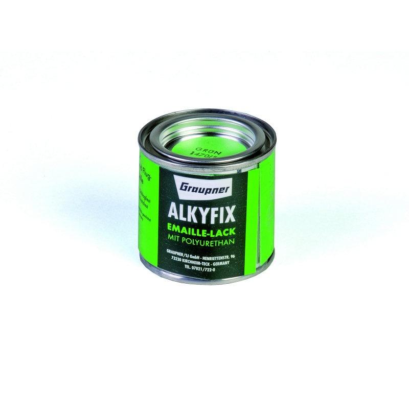 Alkyfix-Emaillelack grün 100ml