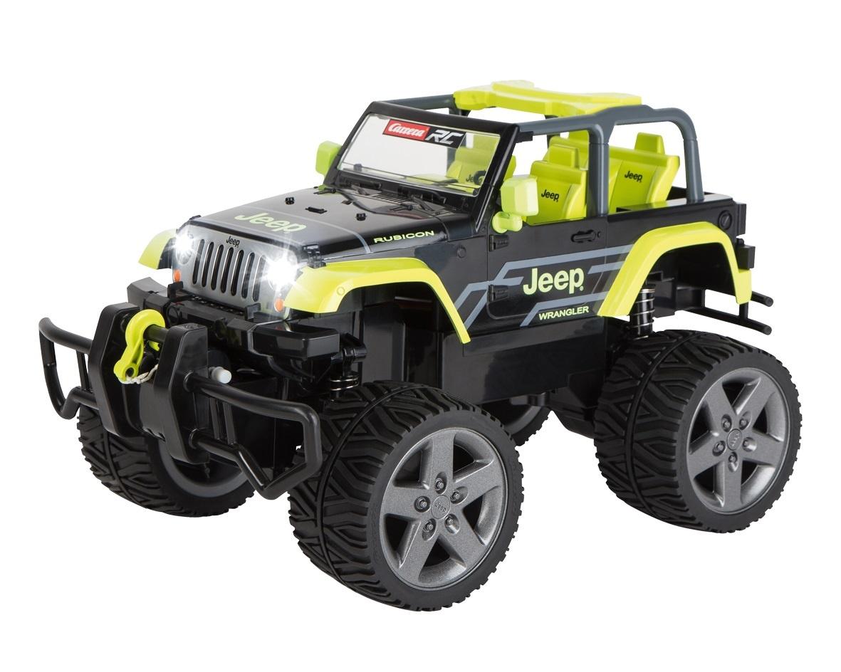 Jeep Wrabgler Rubicon, grün