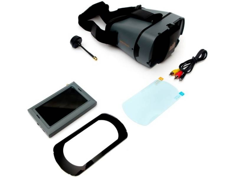Spektrum FPV Video Monitor 4.3 Combo + Spektrum Headset