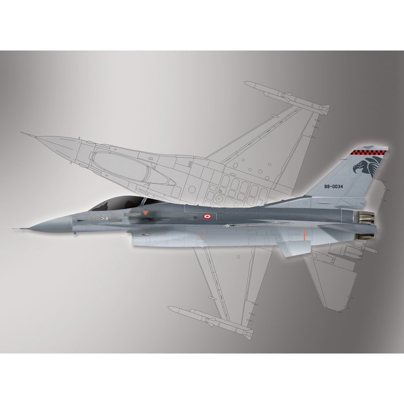 Lockheed-Martin F-16 Fighting Falcon 1:72