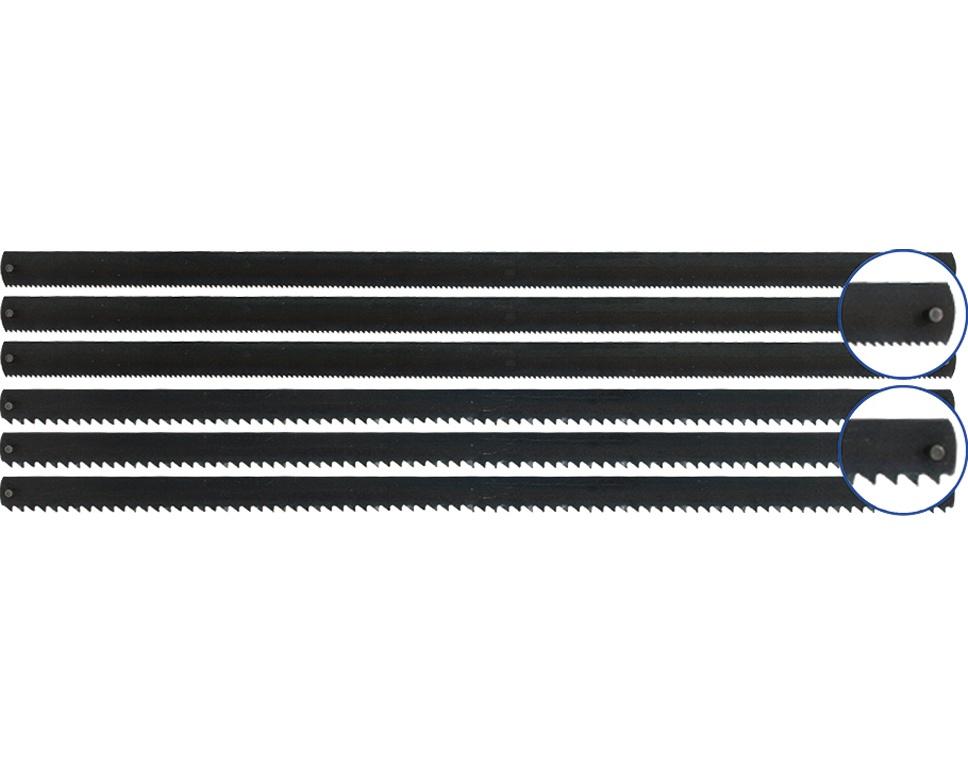 Stift-Sägeblätter 148mm 6 Stück