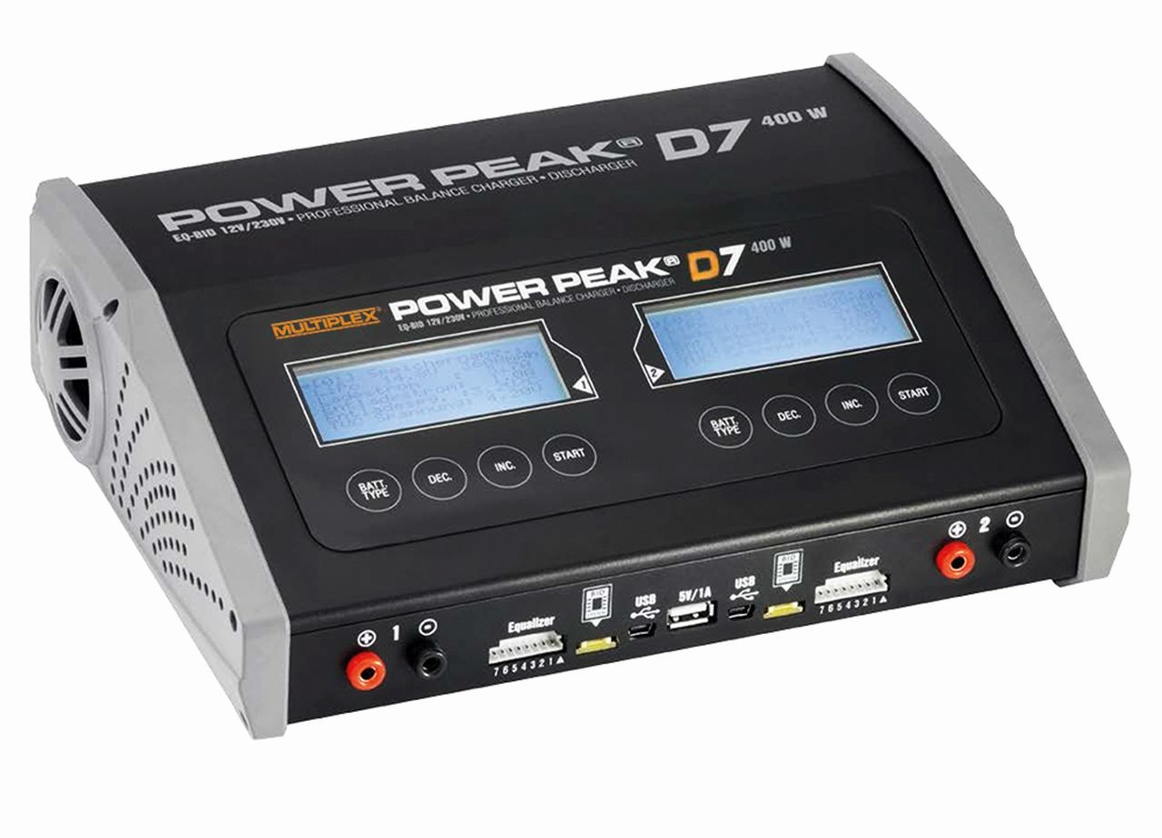POWER PEAK D7 EQ-BID 12V230V-Duo