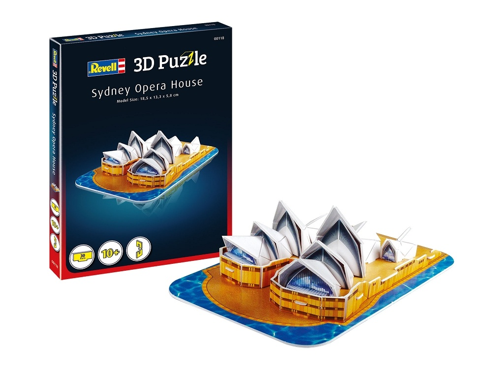 3D Puzzle Oper Sydnay