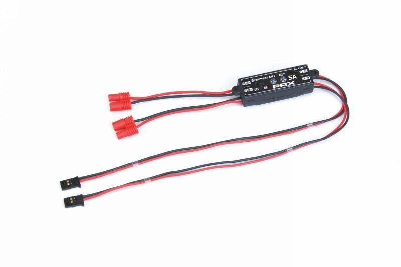 Empfängerstromversorgung PRX-5A stabilisiert