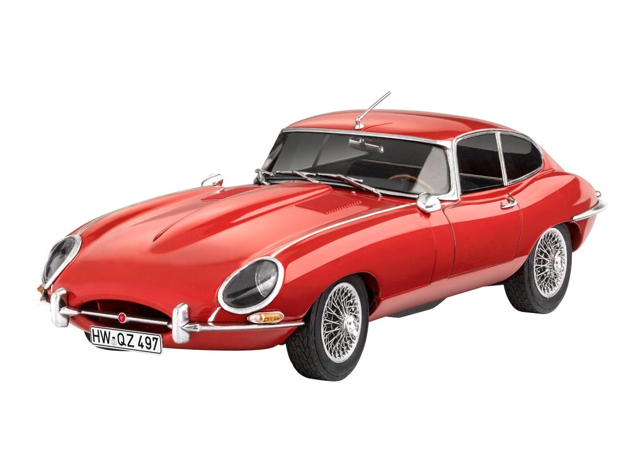 Jaguar E-Type Coupé 1:24