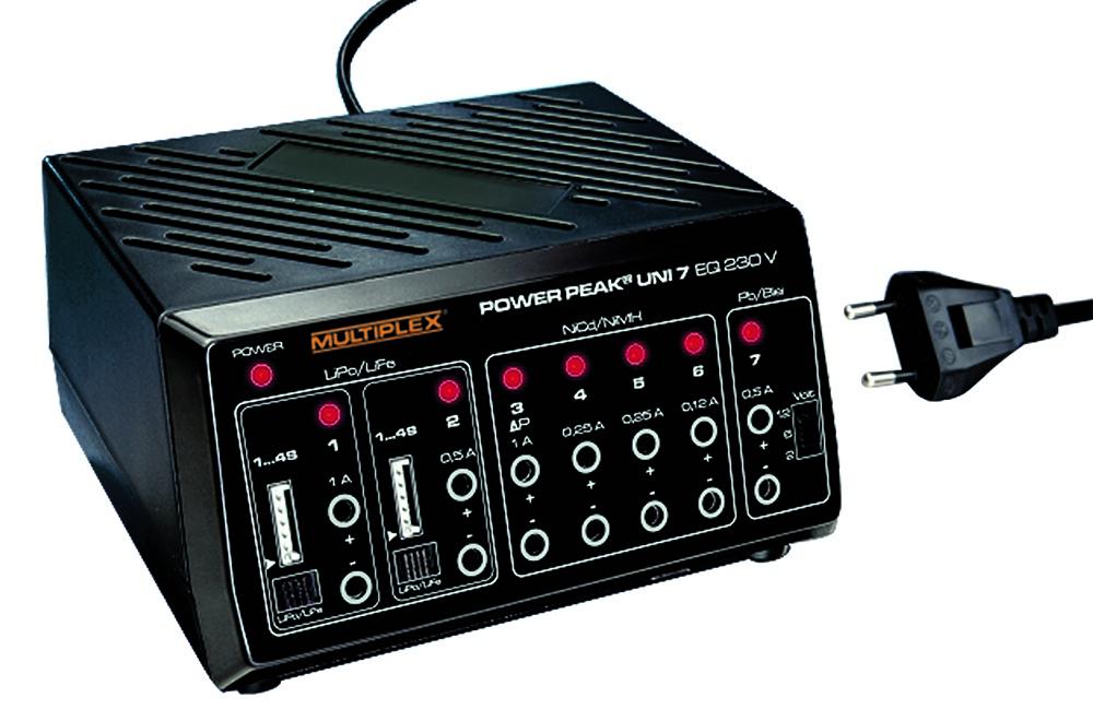 POWER PEAK Uni 7 EQ, 230 V