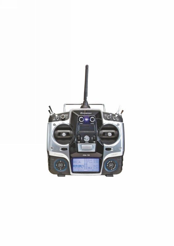 MX-16  HoTT 2.4 GHz 8 Kanal