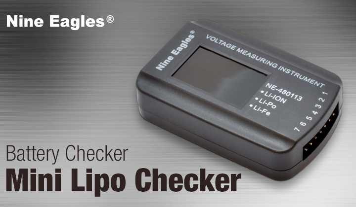 Battery Checker Lipo 1-6S