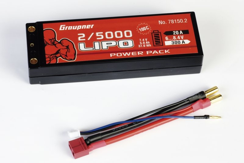 Power Pack Car Lipo 2S 5000 mAh 7,4V