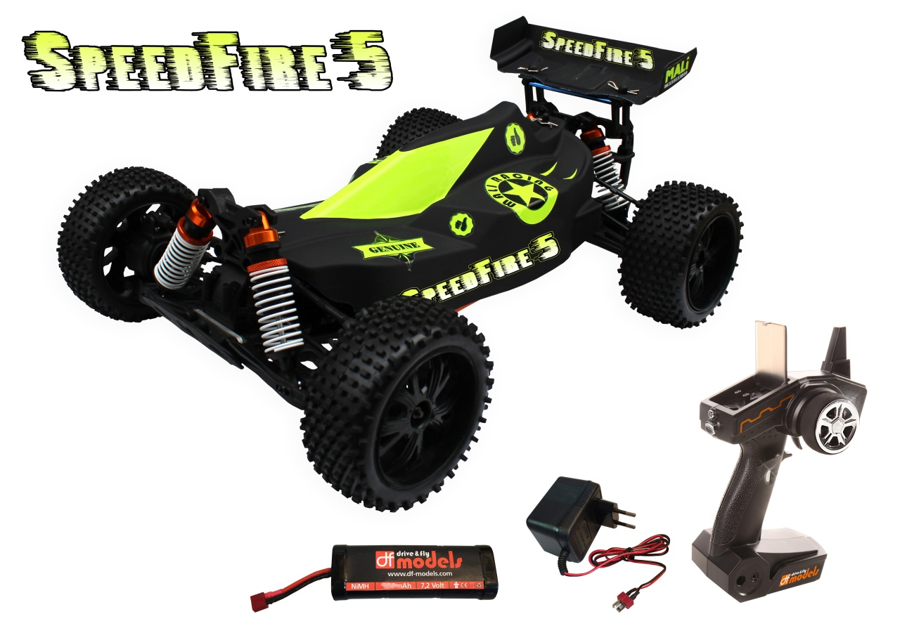 Speedfire 5 brushed Buggy 1:10 XL