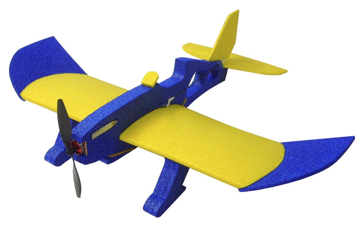 MINIPROP Magnum Reloaded (blau/gelb) 0,80m