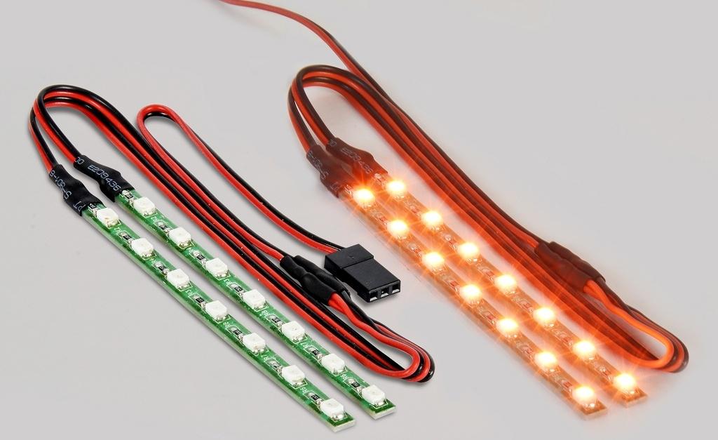 LED Lichstab Set orange