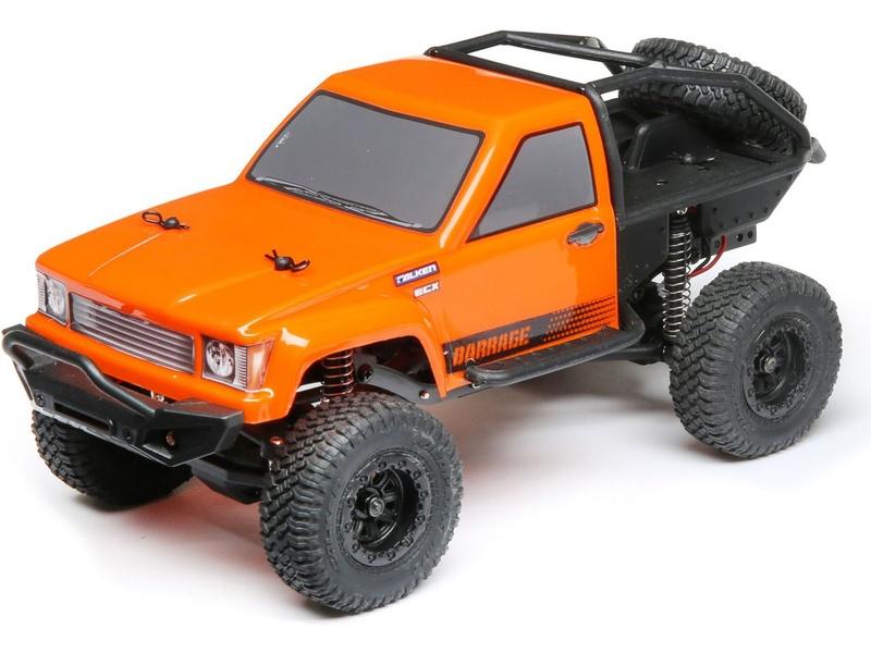 ECX Barrage Scaler 4WD 1:24 RTR - Rot