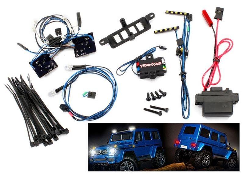 TRAXXAS LED Licht-Set für TRX-4 Mercedes G