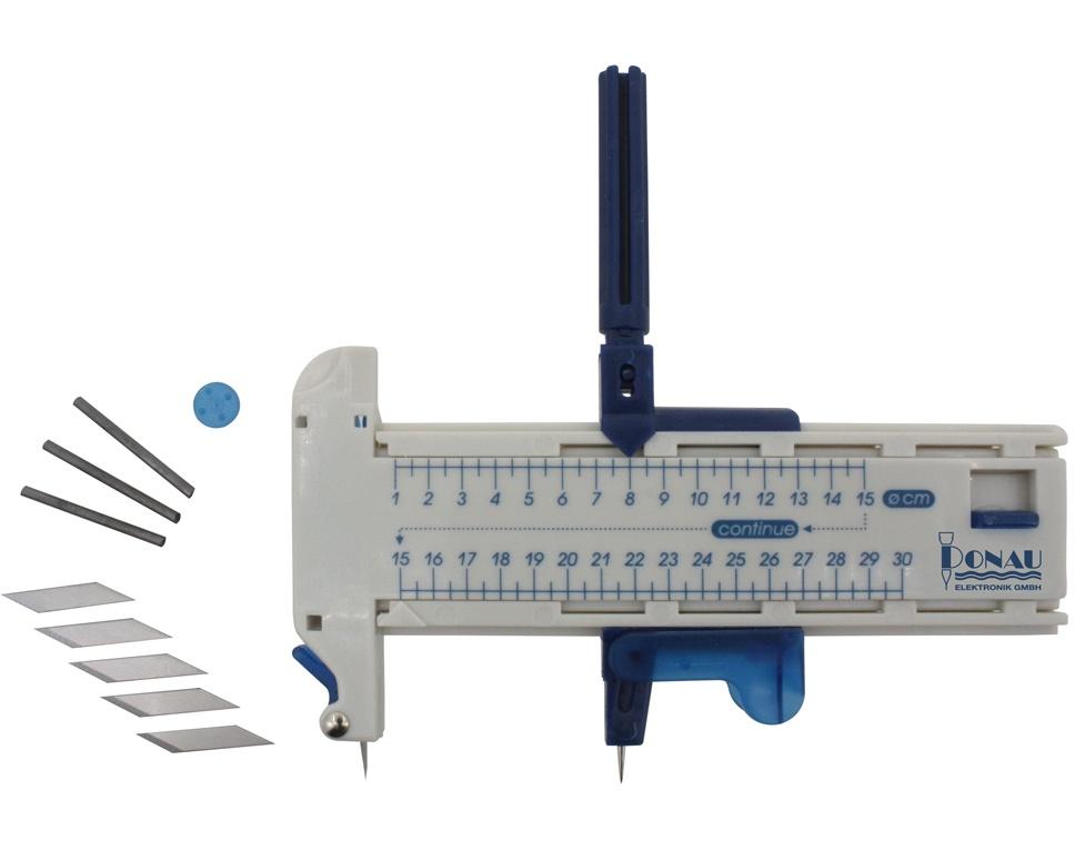 Kreisschneider 10-300 mm mit 5 Ersatzklingen/Stiften