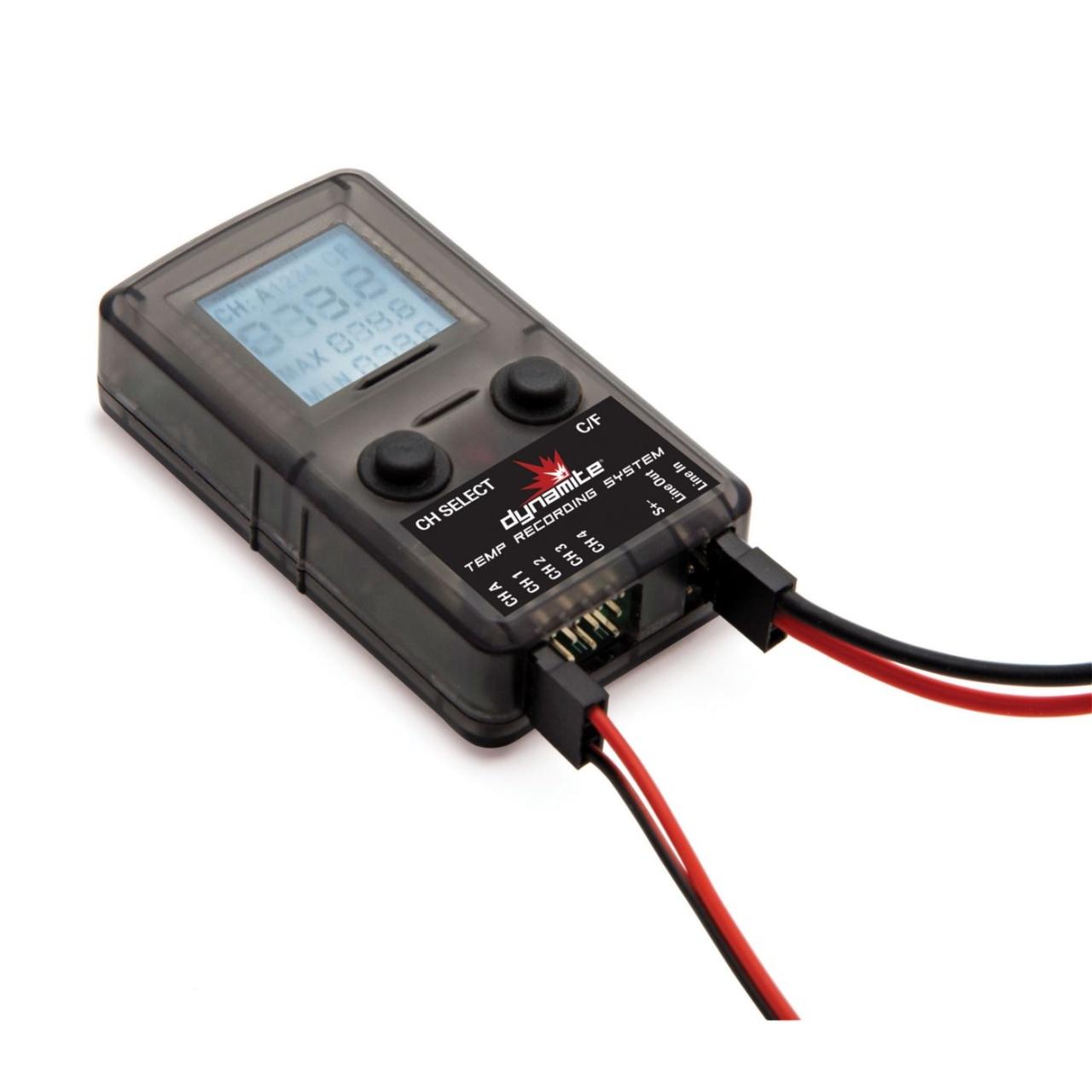 Dynamite Temperatur Aufzeichnungssystem