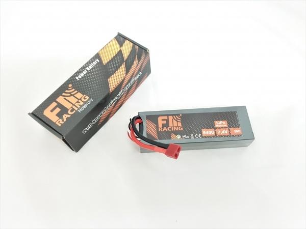 LiPo 7,4V 5400 mAh 50C T-Stecker