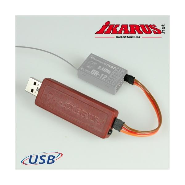 USB-Interfaceset für Graupner HoTT Empfänger