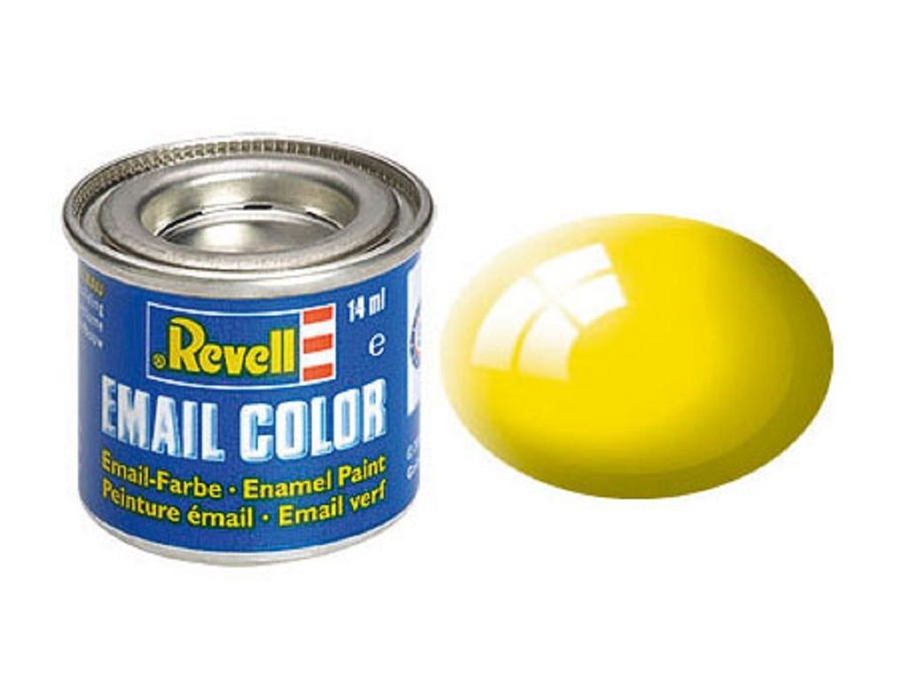 Gelb, glänzend