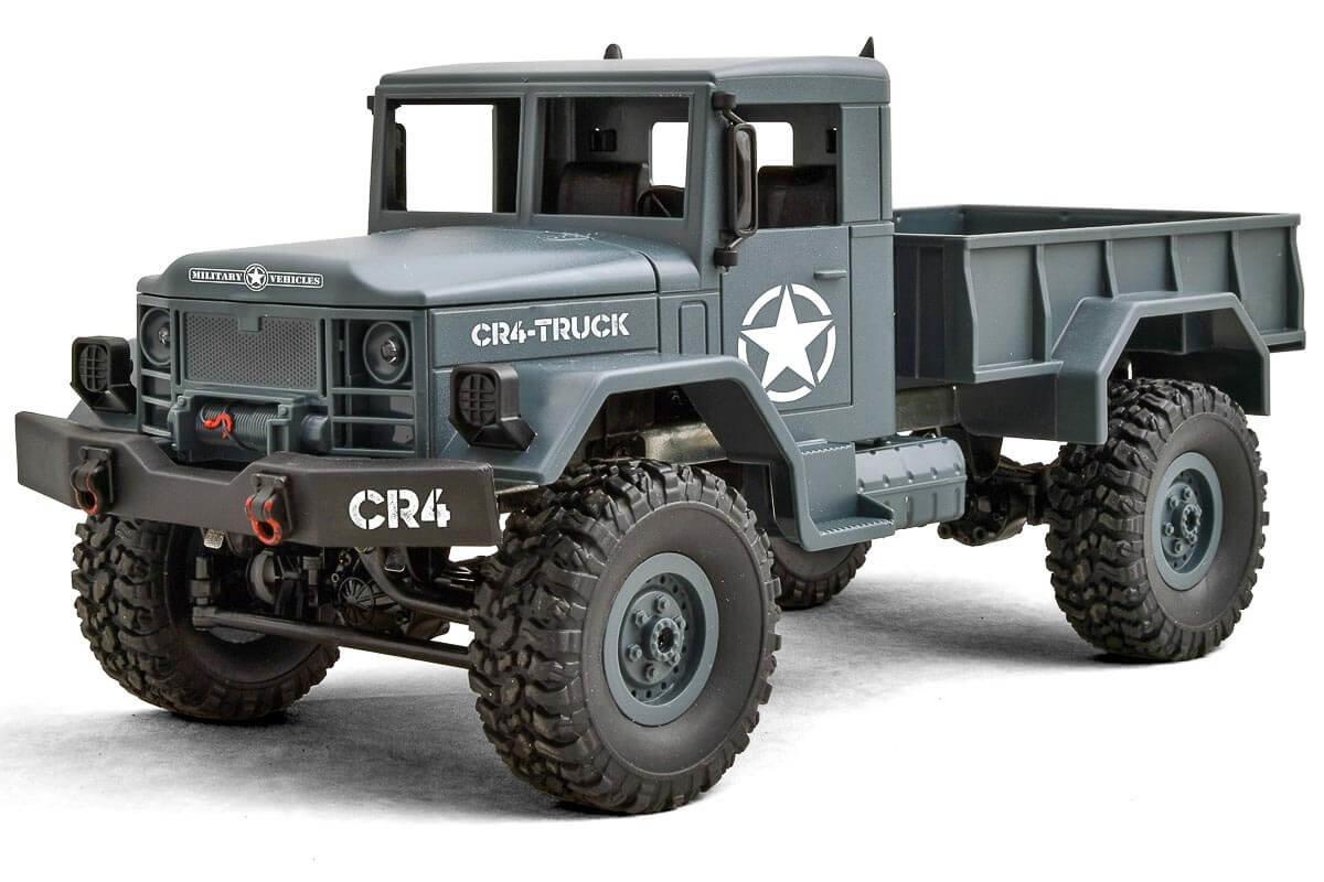 CR4 Militär LKW EP 1/16 RTR - 4WD (grün)