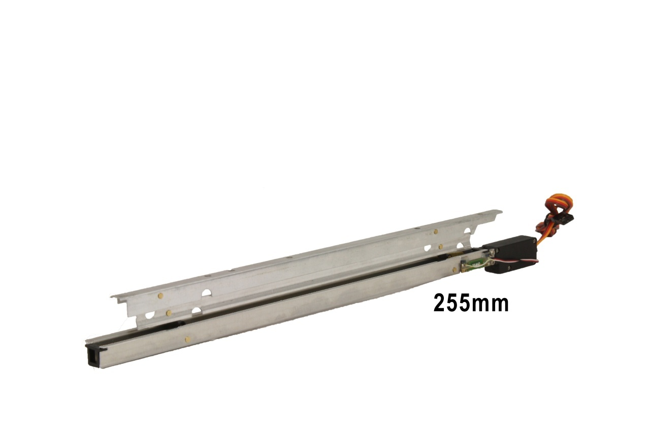 D-Power Elektrische Störklappen 255mm (Paar)