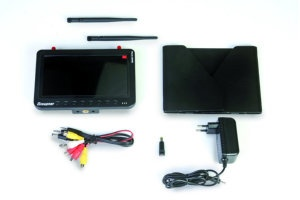FPV Monitor 7 Zoll HD 5,8 GHz Diversity