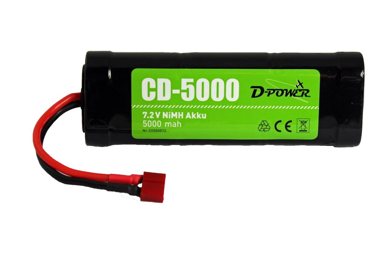 D-Power CD-5000 7.2V NiMH Akku
