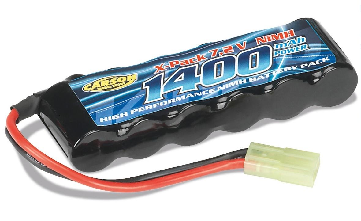 Akku Pack 7,2V/1400 mAh NiMH