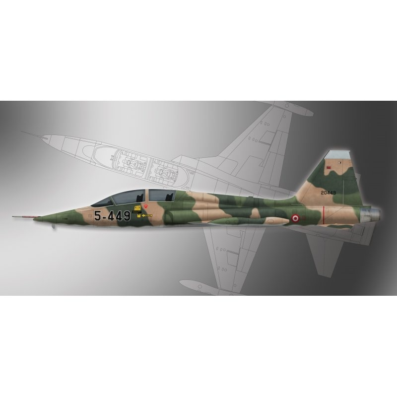 Northrop F-5B Freedom Fighter 1:72