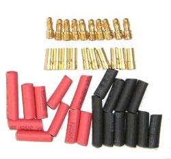Goldstecker 3,5mm 10 Paar