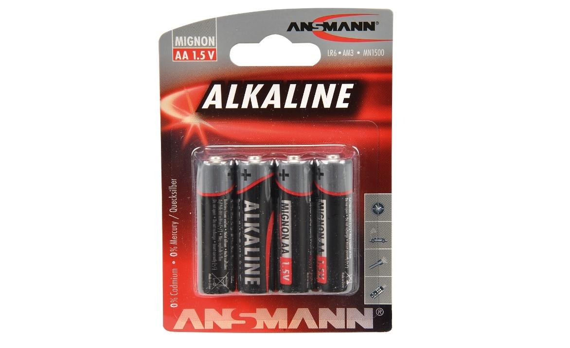 Batterie Mignon/AA 1,5V (R6) 4 Stück