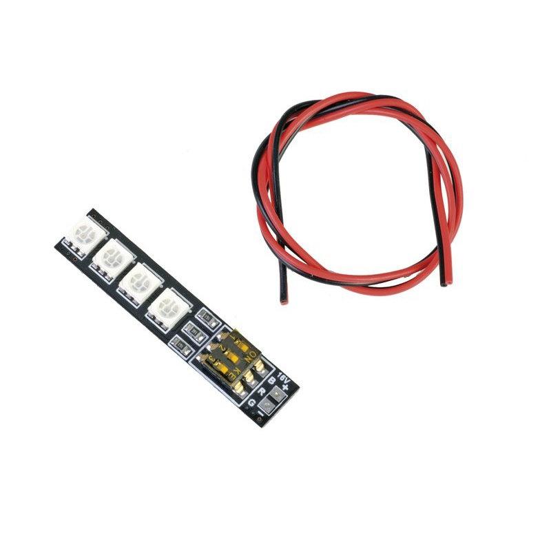 RGB LED 12-16V mit DIP-Schalter