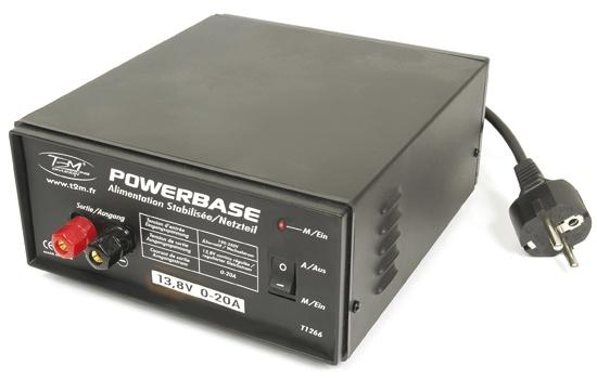 Powerbase Schaltnetzteil 20 A