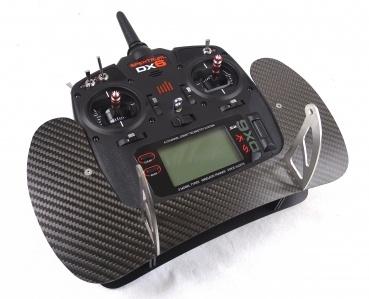 Senderpult DX6 (V2, G2), DX7/8 (G2) Carbon 2mm Montageset