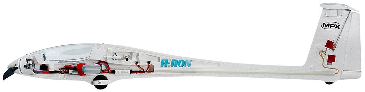 RR Heron mit BL-Antrieb