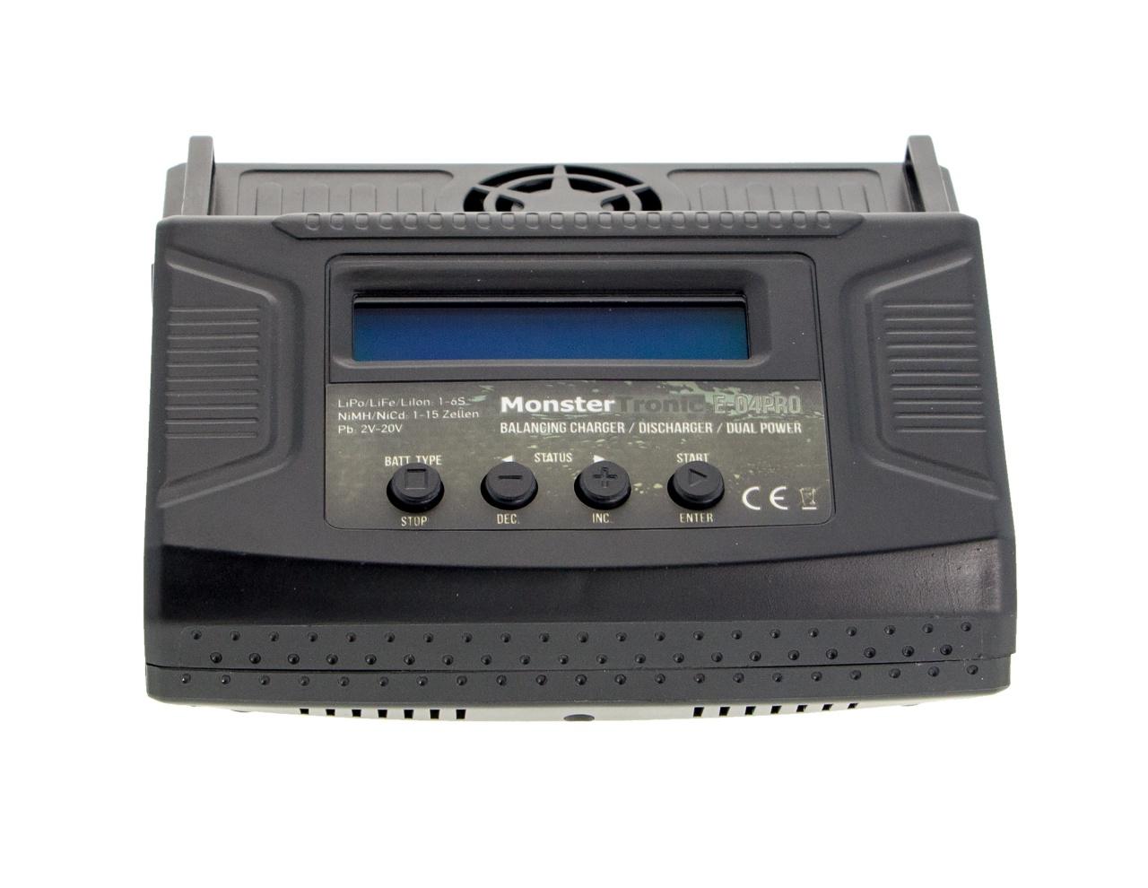 Ladegerät E-4Pro 100 Watt AC/DC
