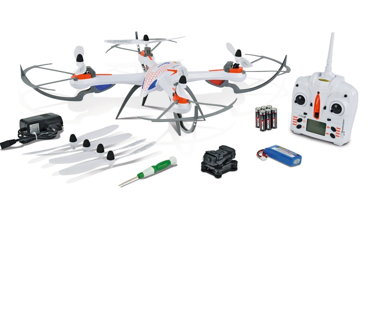 X4 Quadcopter 550 SPY 2.4G 100% RTR