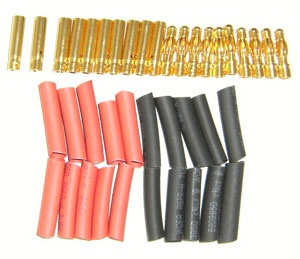 Goldstecker 4mm 10 Paar