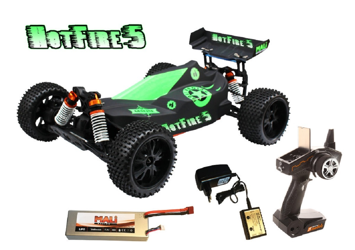 Hotfire Buggy 1:10 Brushless RTR waterproof