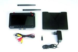 FPV Monitor 7 Zoll DVR 5,8 GHz Diversity