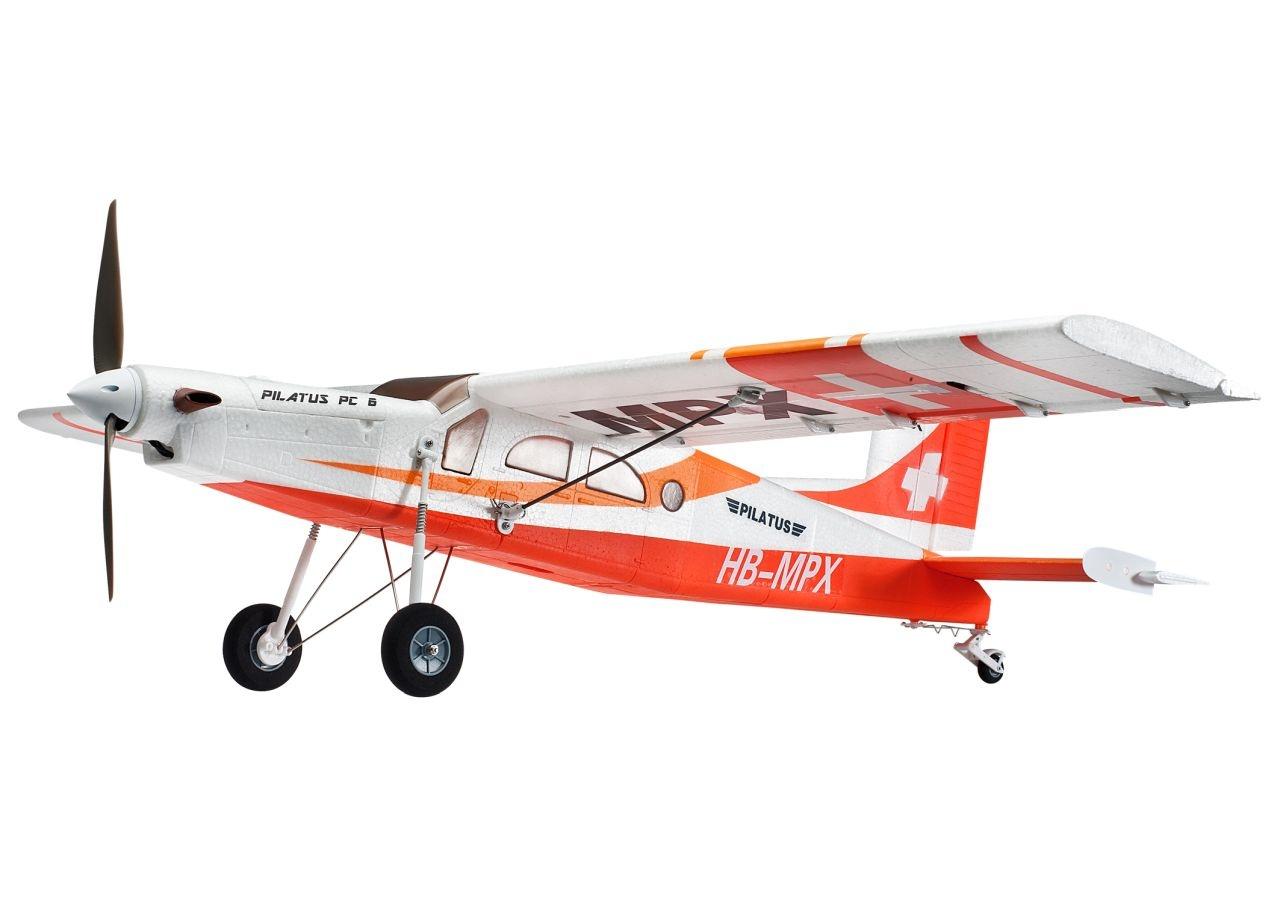 Pilatus PC 6 RR rot