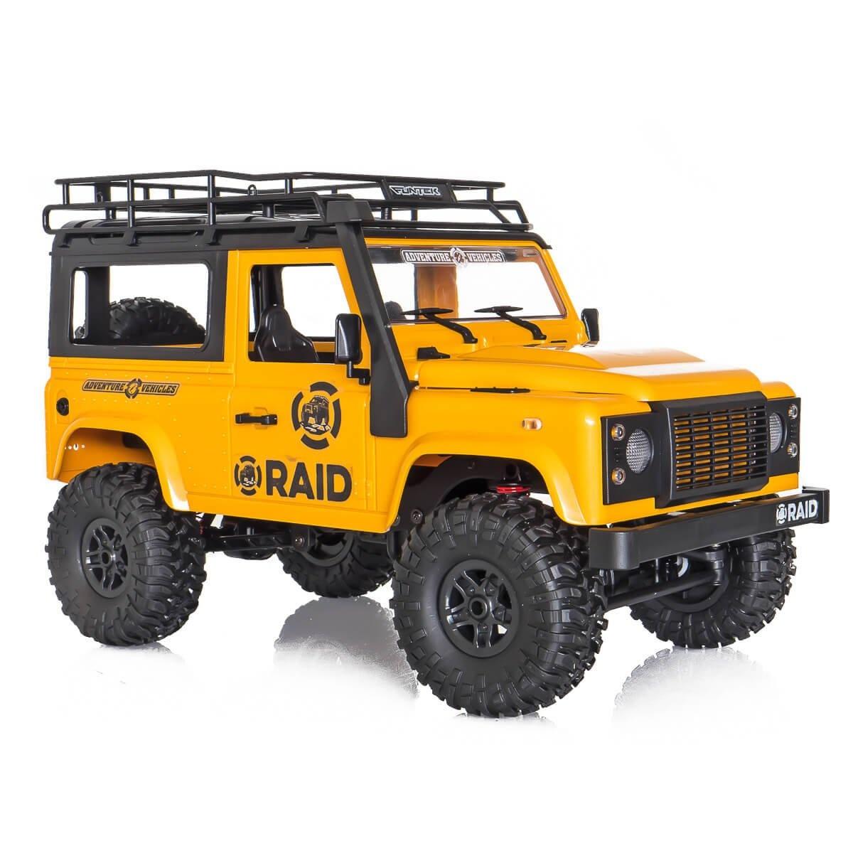 RAID ADVENTURE 4x4 Crawler 1:12 RTR (gelb)