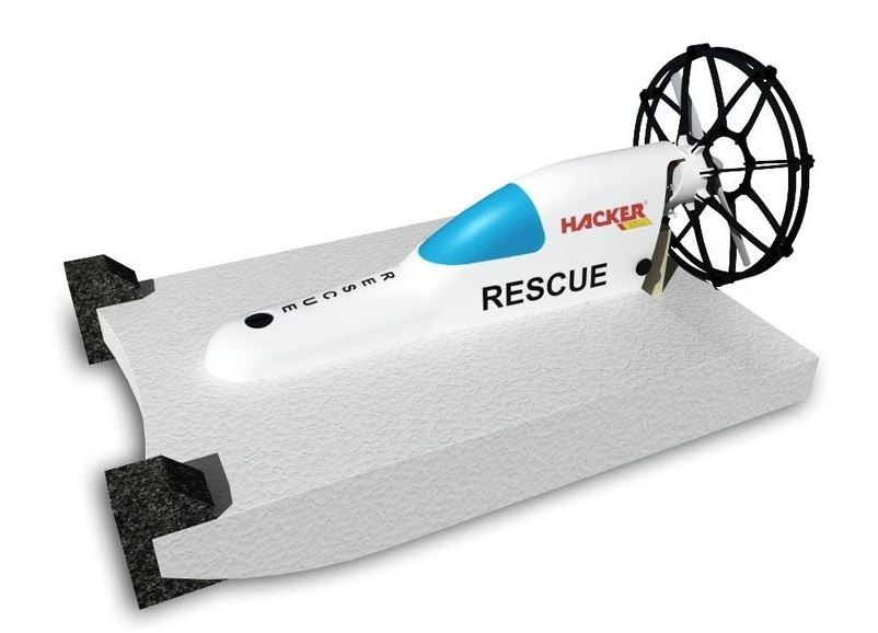Hacker RESCUE Boot incl. BL Motor