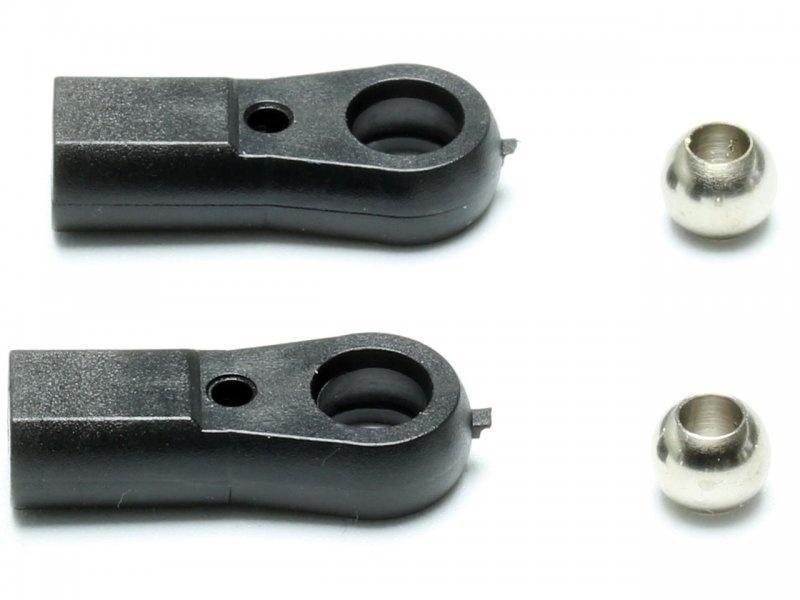 Kugelgelenk Maxi M3 mit 3,1mm Bohrung, 2 Stück
